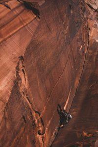 Climbing in the dessert-Patrick Hendry